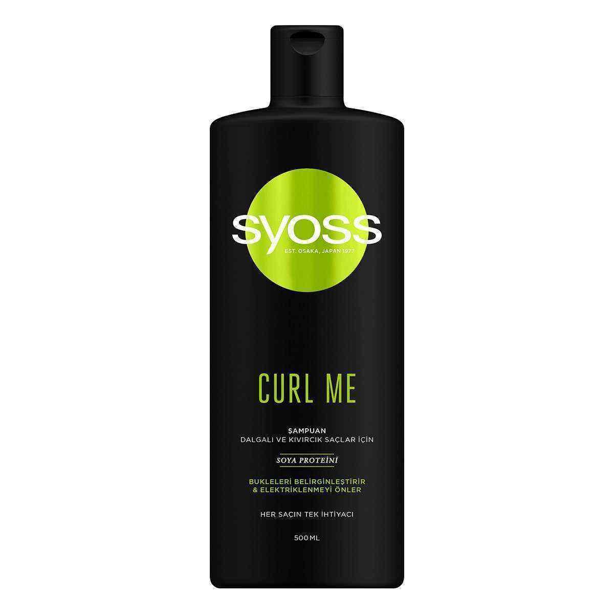 Syoss Curl Me 500 ml Şampuan