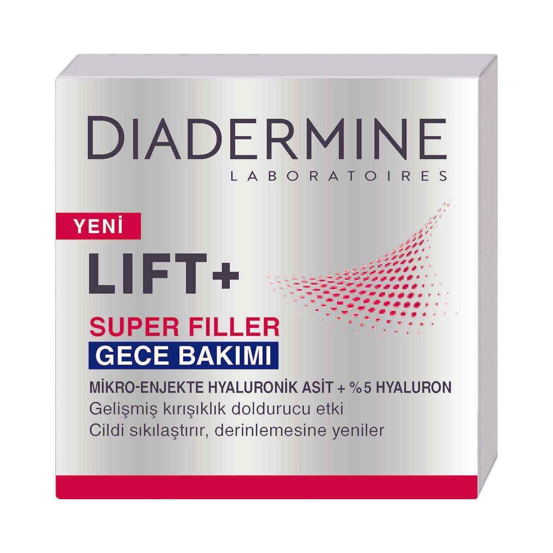 Diadermine Super Filler 50 ml Gece Kremi
