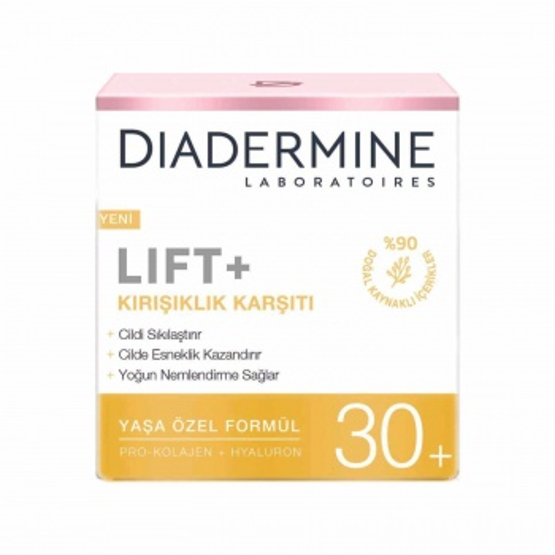 Diadermine Lift+ Kırışıklık Karşıtı 30+ 50 ml Gündüz Kremi