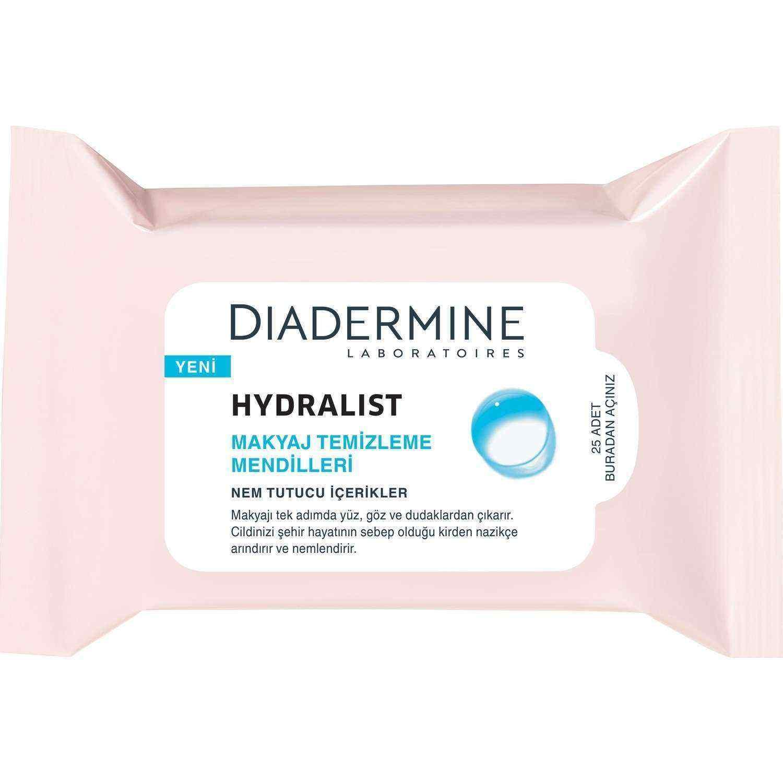 Diadermine Hydralist 25li Makyaj Temizleme Mendili