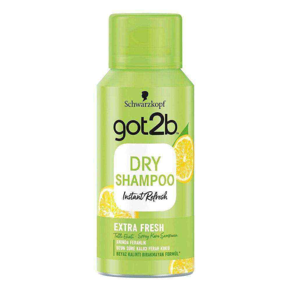 Got2b Fresh It Up 100 ml Extra Ferahlık Mini Sprey Kuru Şampuan