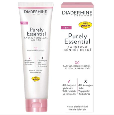 Diadermine Purely Essentials Gündüz Kremi 40 ml