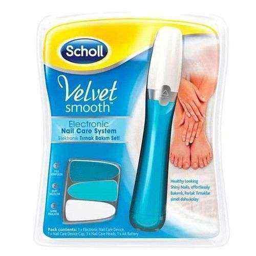 School Velvet Smooth Elektronik Tırnak Bakım Seti