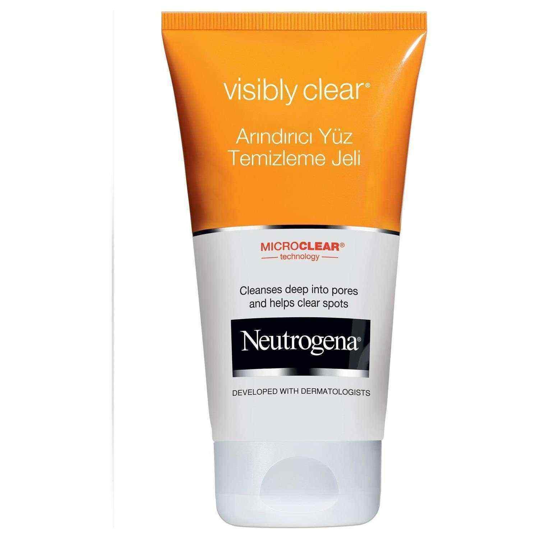 Neutrogena Visibly Clear Arındırıcı Yüz Temizleme Jeli 150 Ml