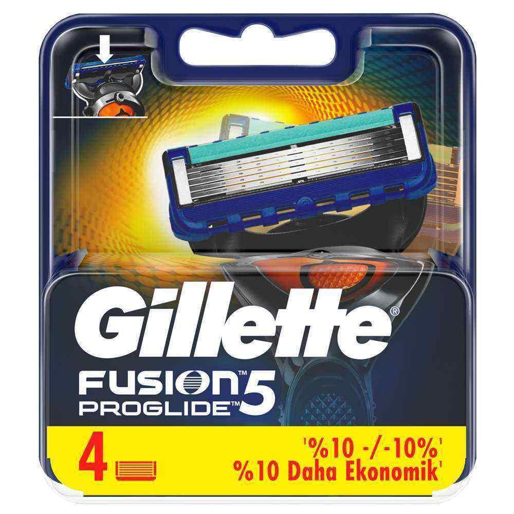 Gillette Fusion5 Proglide - 4 Yedek Bıçak