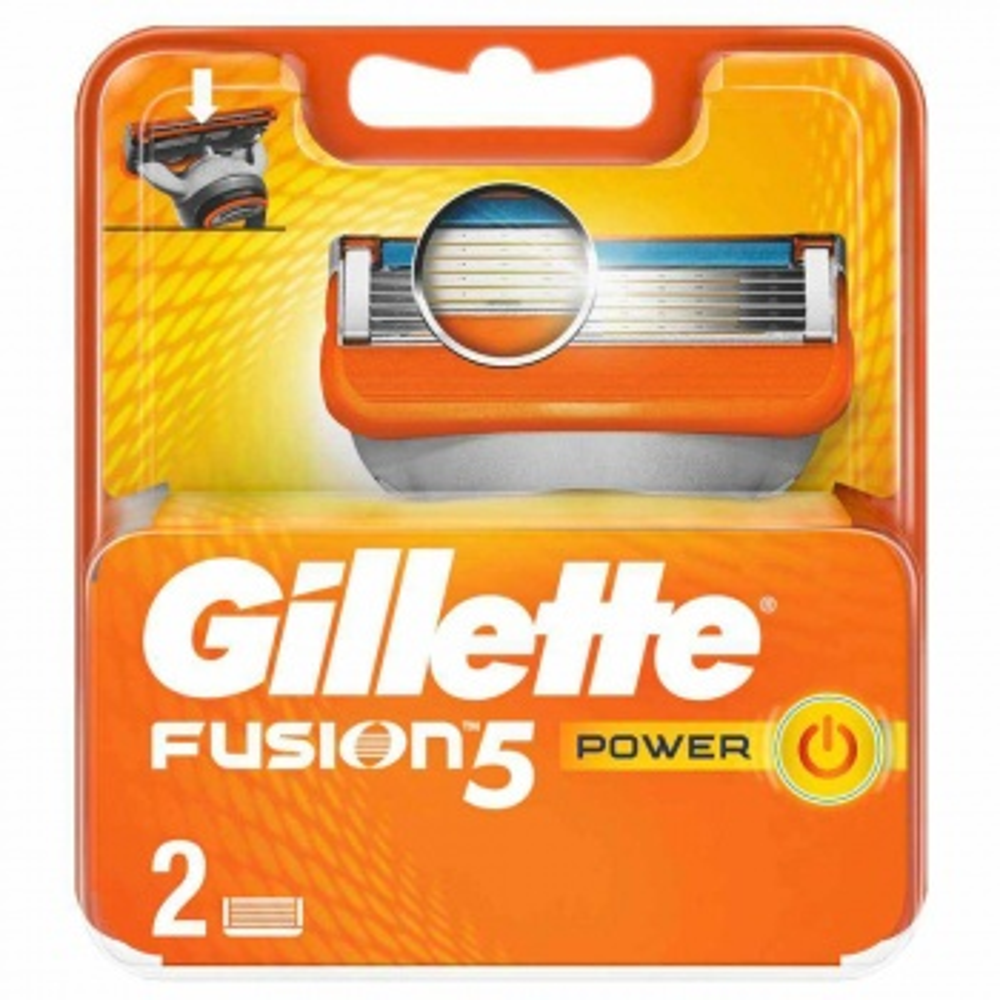 Gillette Fusion5 Power 2li Yedek Bıçak
