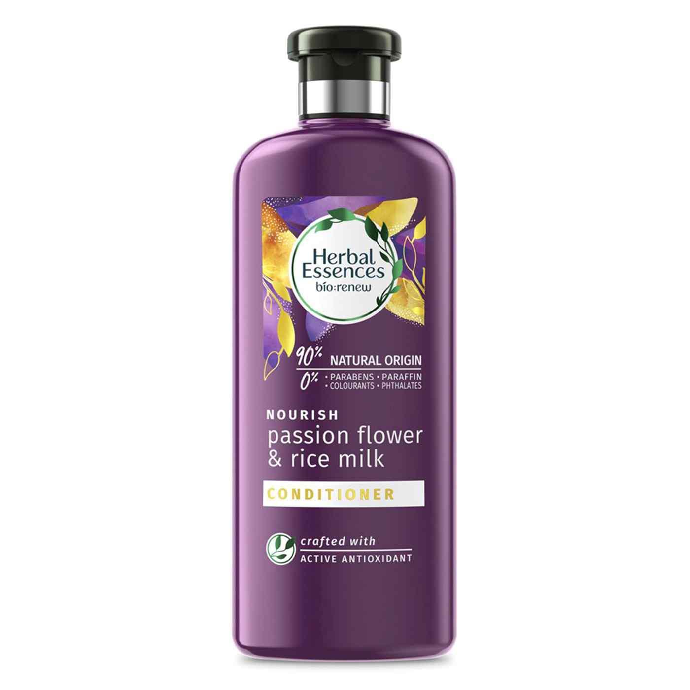 Herbal Essences Çarkıfelek Çiçeği ve Pirinç Sütü Besleyici Saç Bakım Kremi 360 Ml