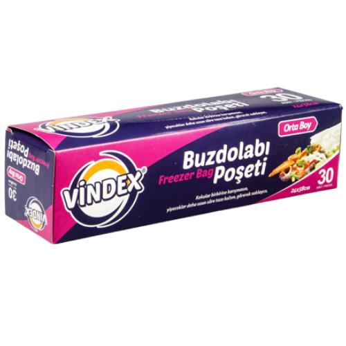 Vindex Buzdolabı Poşeti Orta Boy 20 Adet
