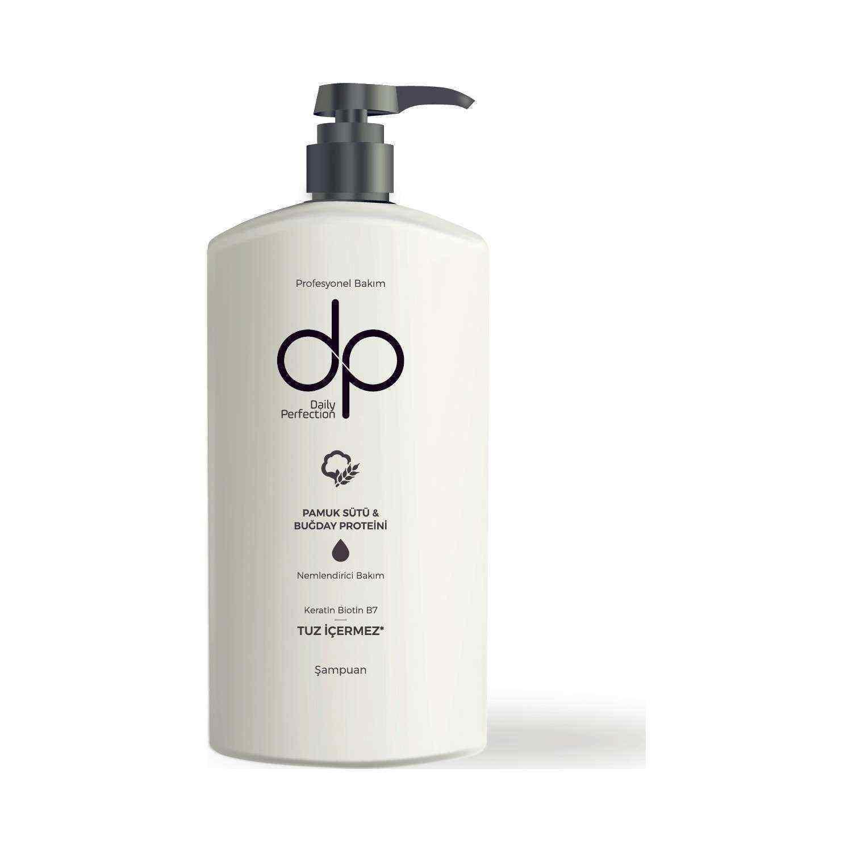 Dp Daily Perfection Pamuk Sütü 800 ml Tuzsuz Şampuan