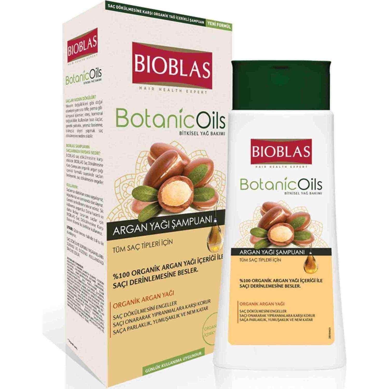 Bioblas Botanic Oils Argan Yağı Şampuanı 300 ml