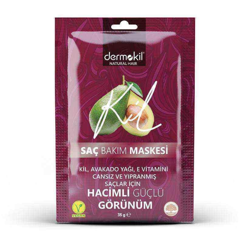 Dermokil Avokado ve E Vitamini Saç Bakım Maskesi 35 ml