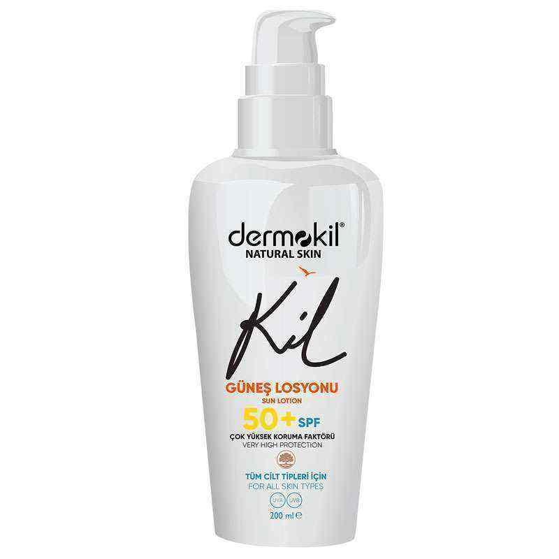 Dermokil Natural Skin Güneş Losyonu 50 SPF 200 ml