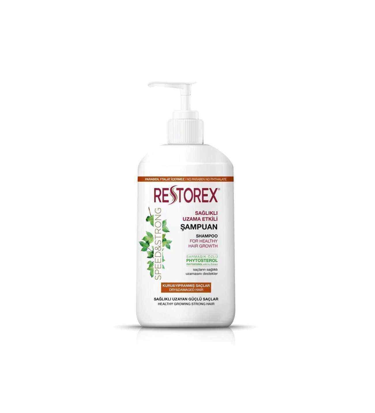 Restorex Kuru ve Yıpranmış Saçlar İçin Onarıcı Şampuan 1000 ml